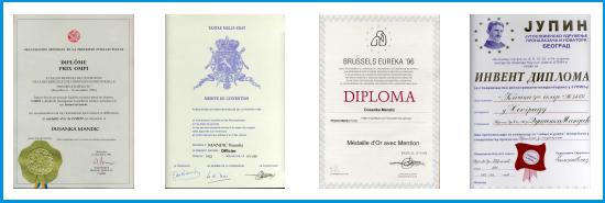 Priznanja 1992-2000